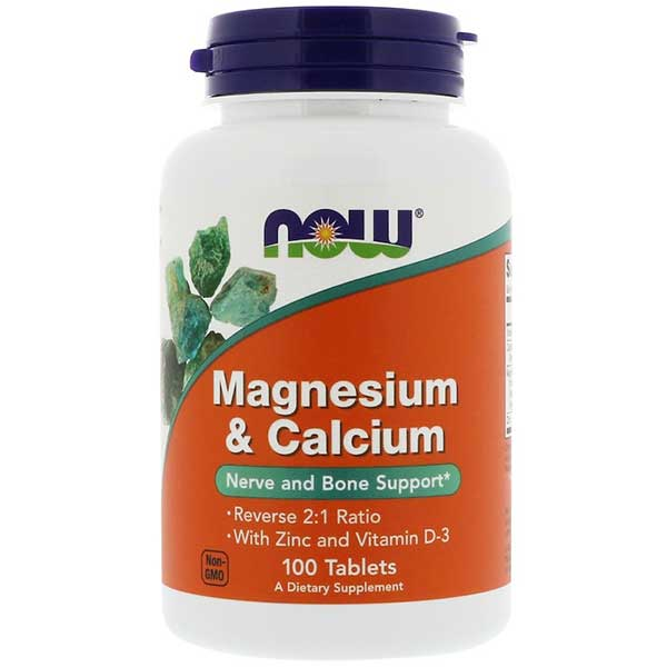 Now Foods Magesium, Calcium, Zinc and Vitamin D3